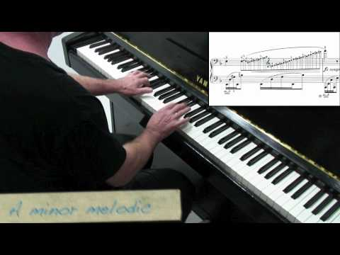 Chopin Prelude No.24 - Tutorial - Paul Barton, piano
