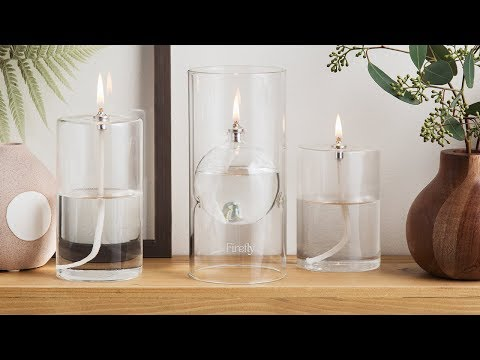 Firefly Fuel | Transcend Glass Oil Lamp