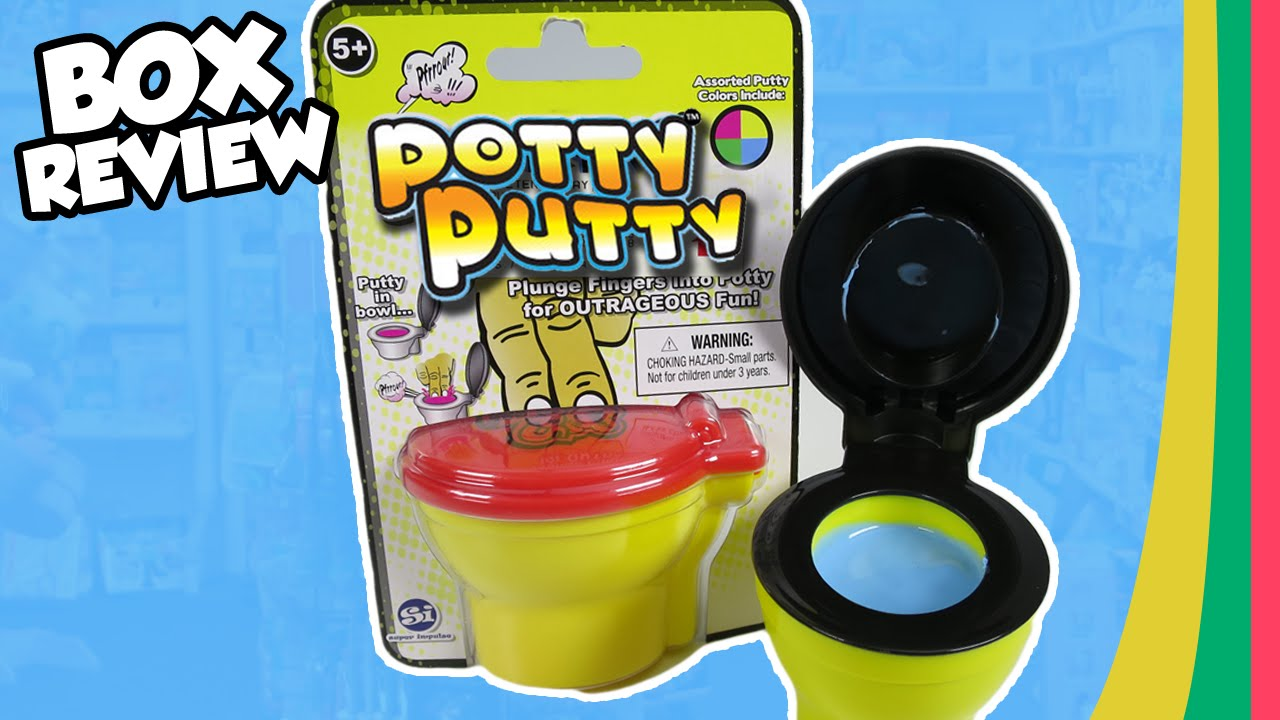 POTTY PUTTY Toilet Bowl Noise Maker - YouTube
