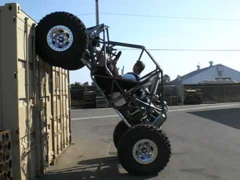 """Trail-Gear """"CREEPER"""" moon buggy Parking lot testing - YouTube"""