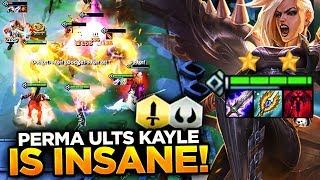 ⭐⭐ KAYLE TURNED INTO DEMON + BLADEMASTER? UNLIMITED ULTS! | Teamfight Tactics