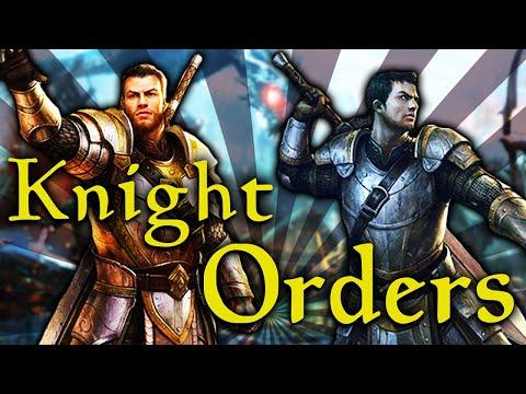 Skyrim - The Knight Orders - Elder Scrolls Lore