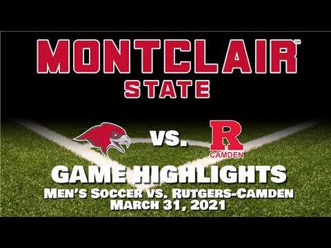 Men's Soccer Highlights vs  Rutgers Camden - April 1, 2021