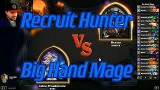Elemental Hand Mage vs Recruit Hunter - Hearthstone