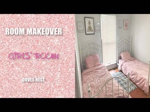 Girls' Room Makeover on a Budget| Minimalist Design| Doves Nest