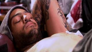LA Ink - Travie McCoy from Gym Class Heroes