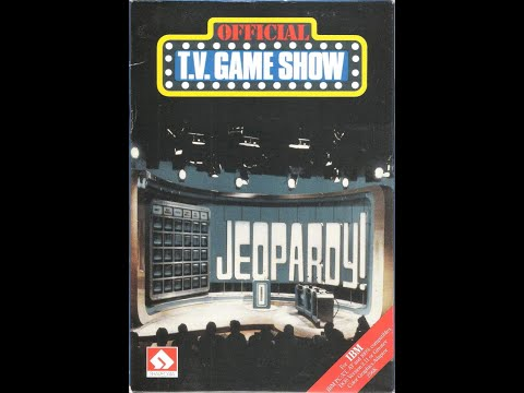 DOS Jeopardy! 1987 ORIGINAL RUN Game #6