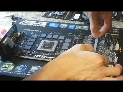 Graphics Card Water Cooling Guide: GPU Waterblock Installation (EK Block for MSI GTX 780 Lightning)