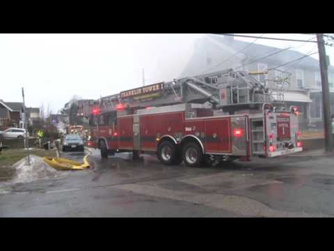 3 homes damaged in Milford, Ma fire