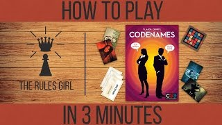 How to Play Codenames in 3 Minutes - The Rules Girl