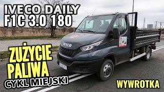 2019 Iveco Daily F1C 3.0 180 KM - Ile najmniej spali w mieście?