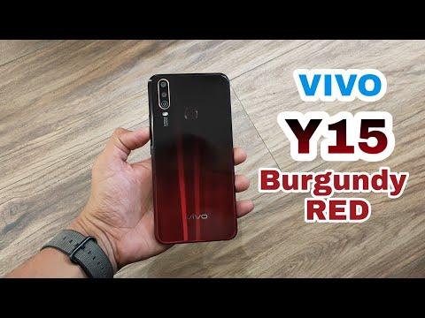 Vivo Y15 Burgundy RED | AllStuff