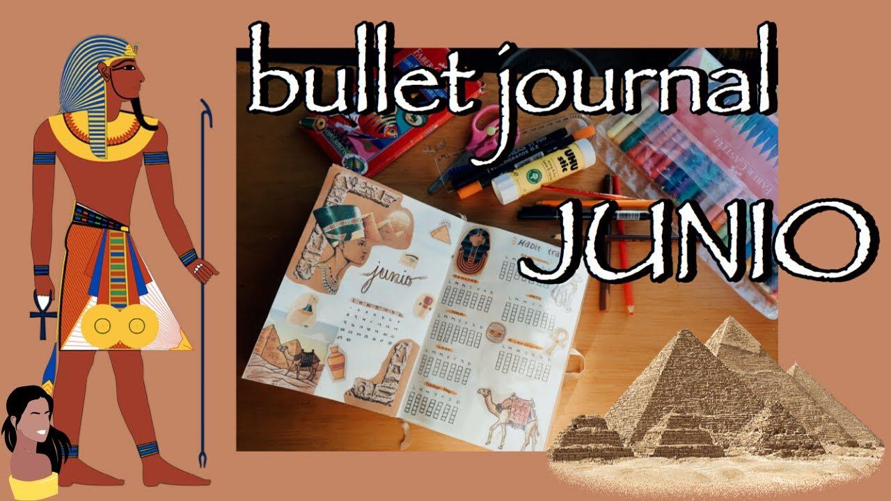 bullet journa junio 2020