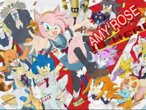 Human Shadow The Hedgehog And Amy
