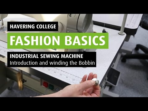 HOW TO: Wind a bobbin on an Industrial Sewing Machine