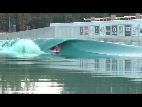 Surfing PERFECT waves at TEXAS Wavepool