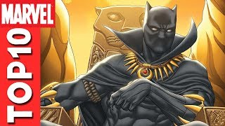 Top 10 Black Panther Moments From The Avengers: Earth
