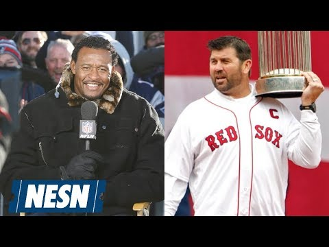 Jason Varitek, Willie McGinest, Dave Cowens And Rick Middleton Honored At The Tradition
