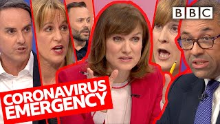 Coronavirus emergency: is it safe to fly people back from Wuhan? | Question Time - BBC