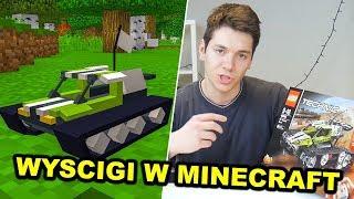 WYŚCIGI SAMOCHODÓW LEGO W MINECRAFT! *Ekstra!*