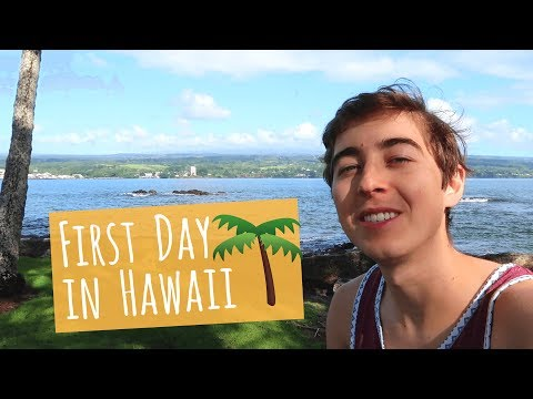 First Day in Hawaii Vlog 🌴Exploring Hilo
