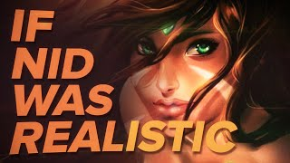 IF NIDALEE WAS REALISTIC