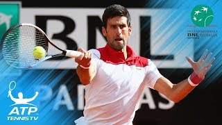 Nadal, Djokovic, Zverev surge through; Fognini upsets Thiem | Rome 2018 Highlights Day 4