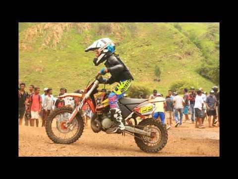 Chelin 22# Girl 8 year from Timor Leste motocross (chelin Valentina)