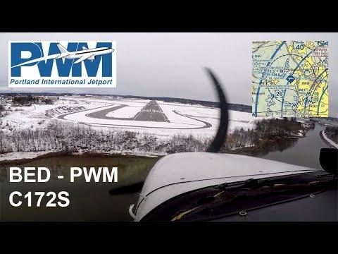 Cessna 172 | Boston, MA to Portland, ME