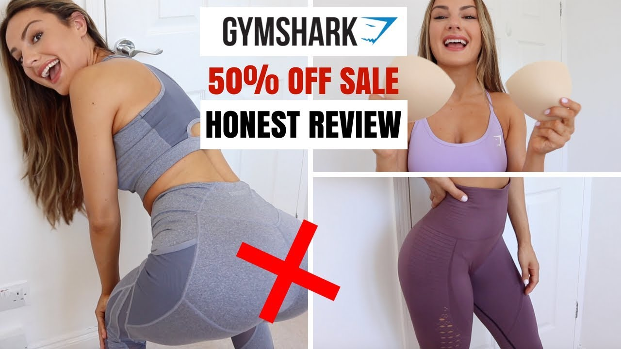 GYMSHARK SALE | Big Honest Review & Try On Haul !
