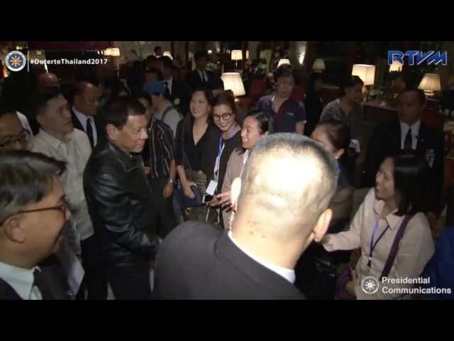 OFWs, Thais 'excited' to meet Duterte in Bangkok – ambassador