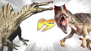 Spinosaurus VS Allosaurus [Who Would Win?]