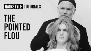 How to do the pointed flou? by Adam Reed | L'Oréal Professionnel tutorials