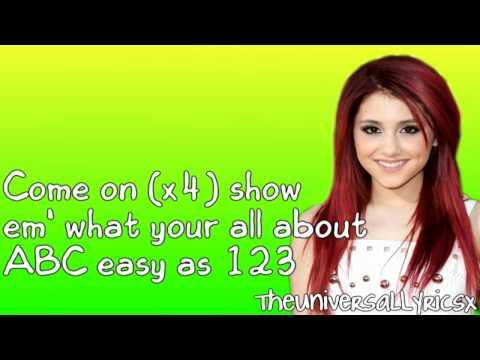 Ariana Grande - ABC (Lyrics Video) HD