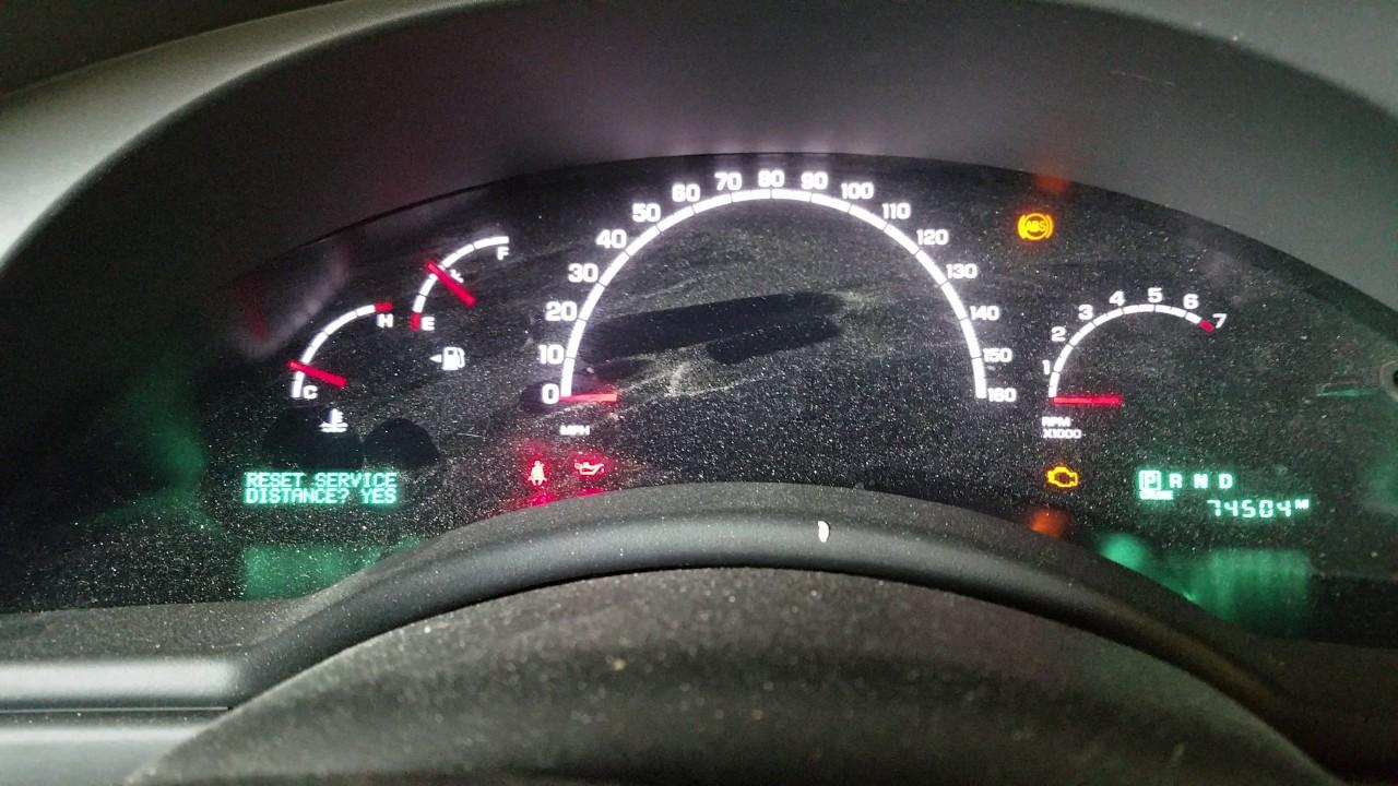 2006 Chrysler Pacifica 3 5l Oil Change Light Reset Service