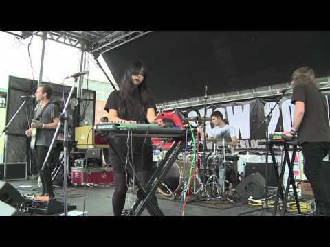 "The Naked And Famous ""Punching In A Dream"" live at Waterloo Records SXSW 2011"
