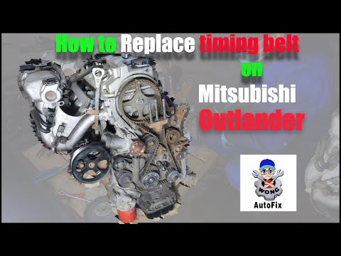 How to replace TIMING BELT on Mitsubishi Outlander