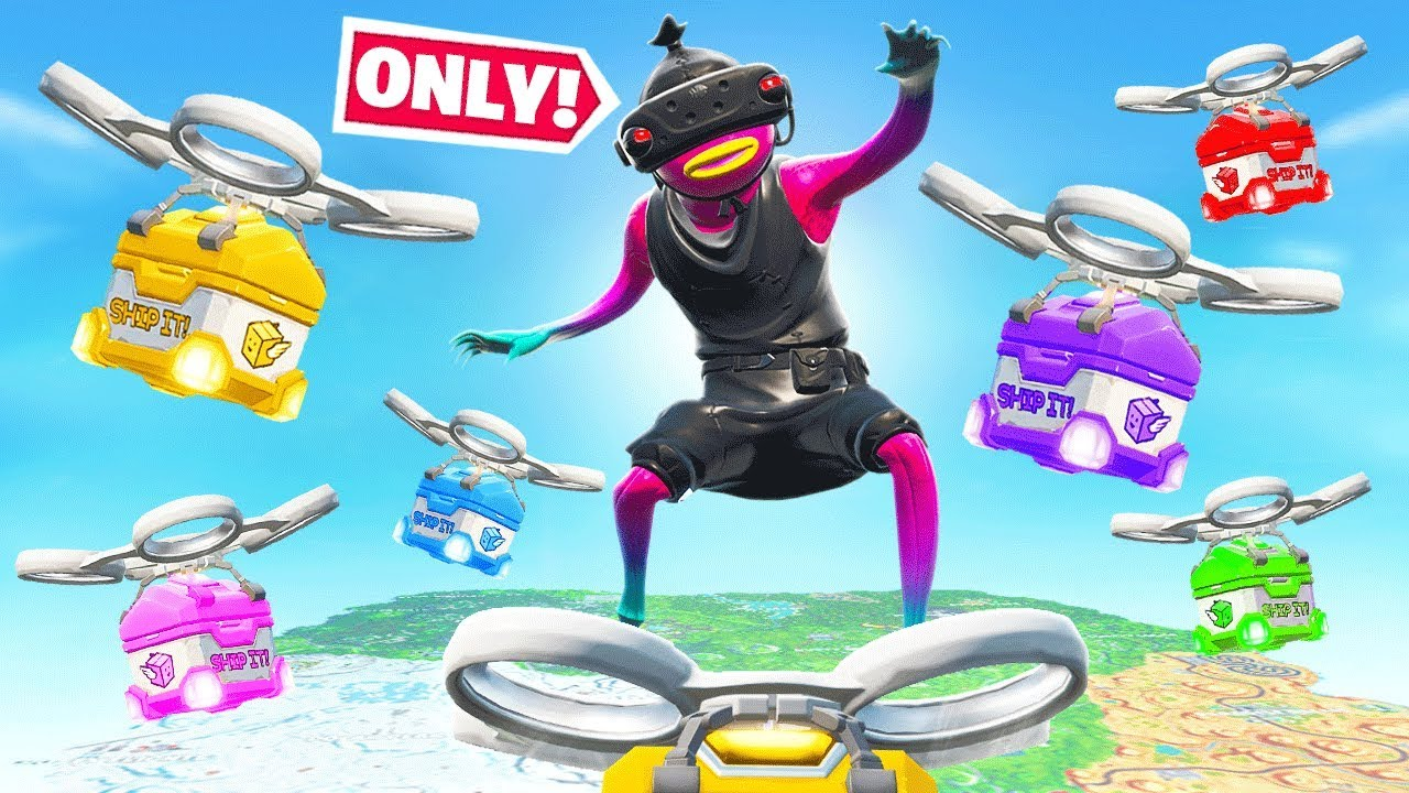 RANKED SUPPLY DRONE *ONLY* Challenge (Fortnite)