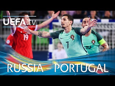 Futsal EURO highlights: Russia v Portugal