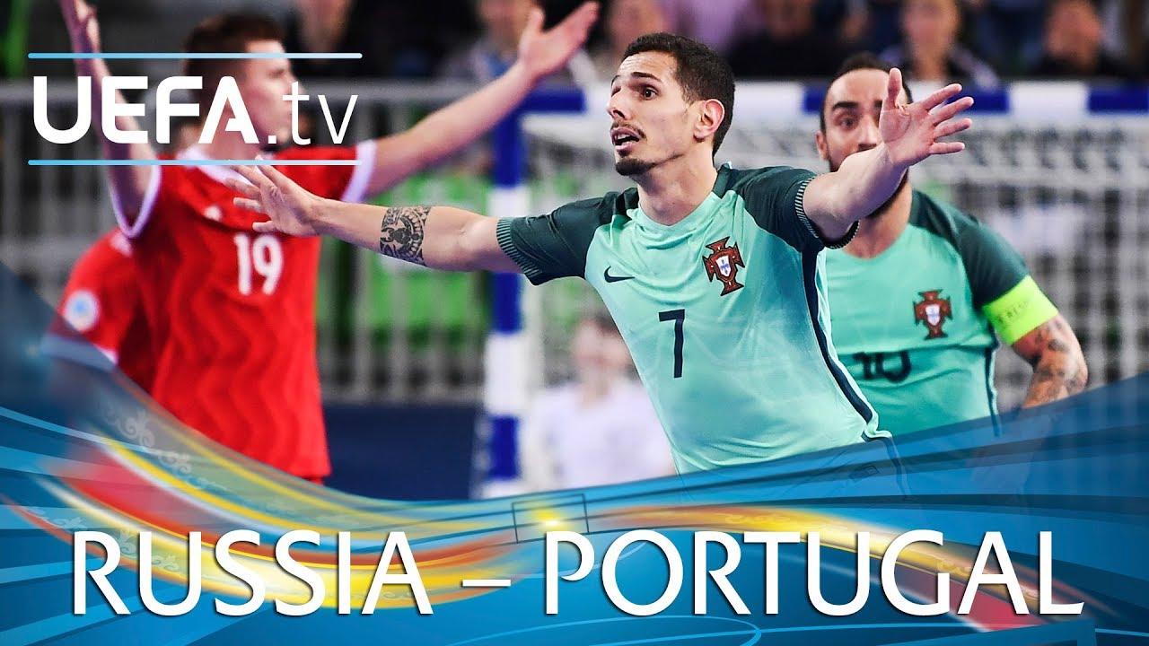 Futsal Euro Highlights Russia V Portugal Youtube