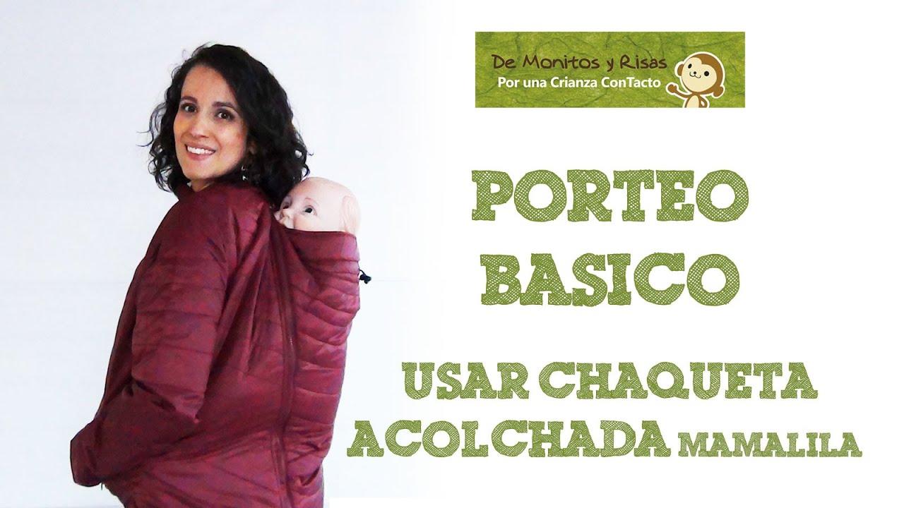 Usar Chaqueta acolchada Mamalila - YouTube