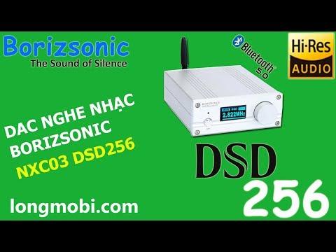 Download DAC NXC03 DAC nghe nhạc DSD256 Bluetooth 5 0 kết hợp cùng