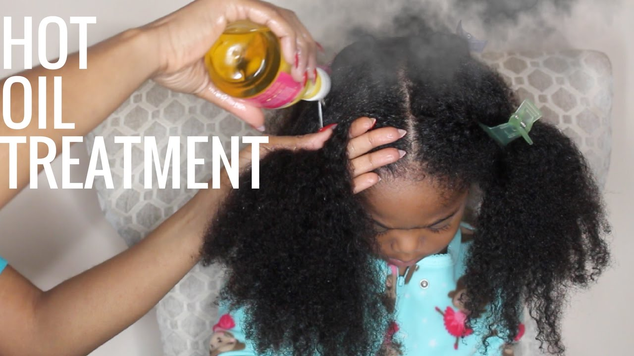 Tailored Beauty Hot Oil Treatment For Dry Hair All Ages Youtube