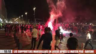 Ligue des champions : les Marseillais fêtent la victoire du Bayern Munich face au PSG