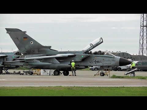 🇩🇪 Exercise Cobra Warrior 2018, German Tornado Jets at RAF Coningsby UK