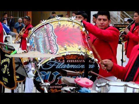 Banda FILARMÓNICA  VILCA+ MIX BOLOS Cantados   26 Aniversario en LIMA