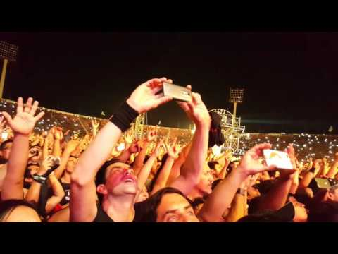 Iron Maiden Chile 2016 - Fear on the Dark / CROWD CAM / 4k