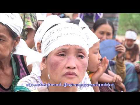 Displaced Karen demand Myanmar Army leave their ancestral lands