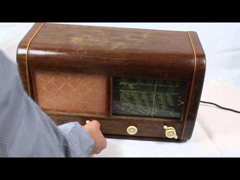 Radio de válvulas Luxor