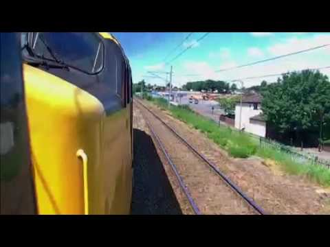40145 12th June 2010 passing Vulcan Foundry